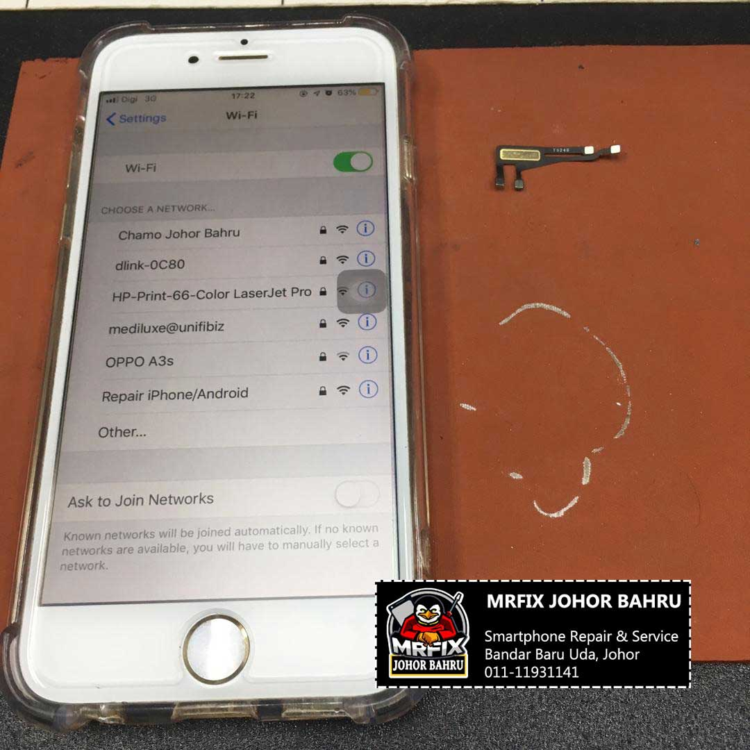 Repair WiFi Ribbon iPhone 6