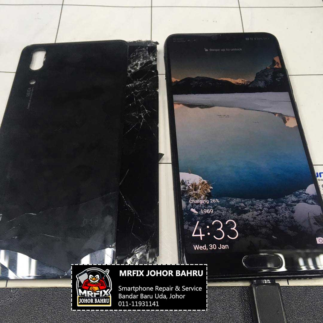 LCD Huawei P20 & Back Cover Replacement