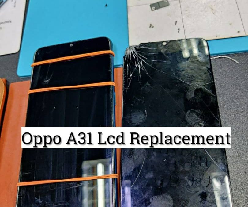 Oppo A31 LCD Replacement.