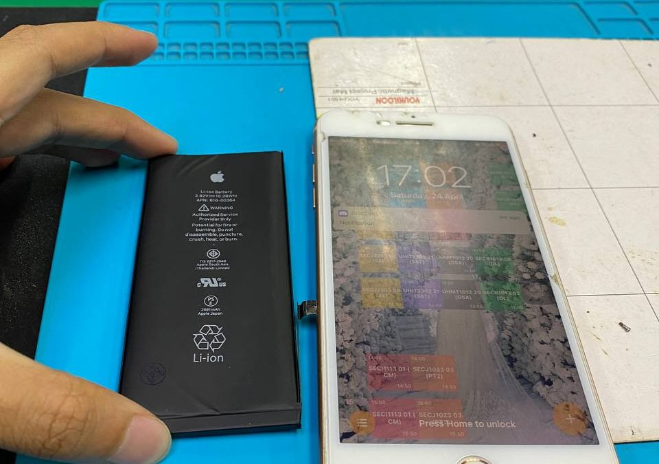 iPhone 8Plus Battery Replacement.