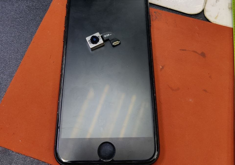 Back Camera & Battery iPhone 7 Replacement.