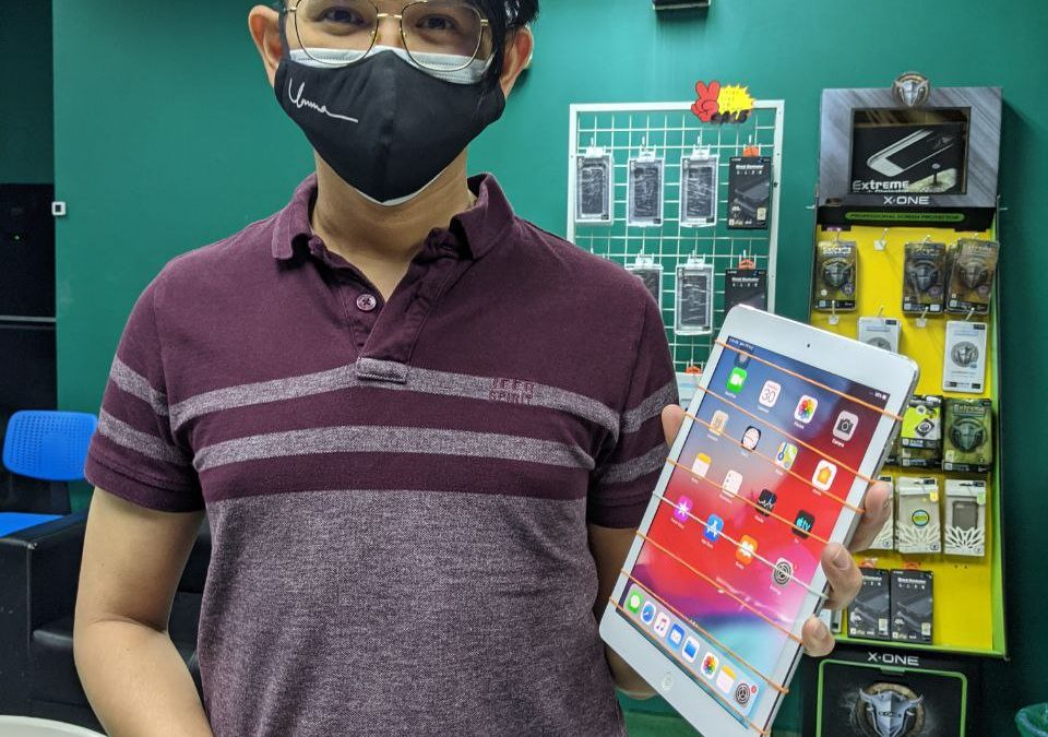 iPad Air 1 Touchscreen replacement.